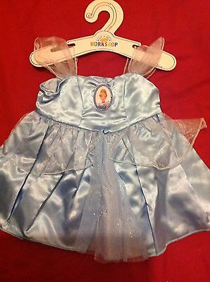 Build A Bear Disney  Clothing Cinderella Dress Brand New With Tags