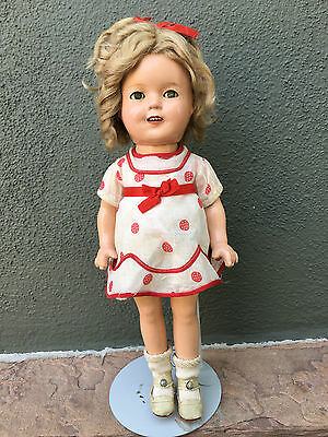 """Ideal Composition Shirley Temple 13""""  All Original 1930's Marked"""
