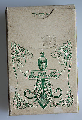 J.M.C. Kartenspiel - Playing Cards No 61- Swiss made - selten mit Goldecken