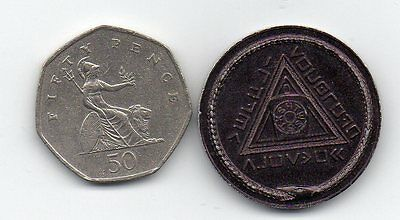 A Masonic Penny Coin Age Unknown