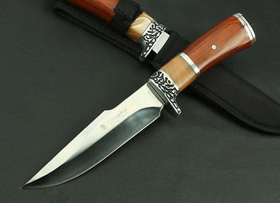 New One Survival Bowie Collect Hunting Knife Outdoor Sport Camping Fixed 315