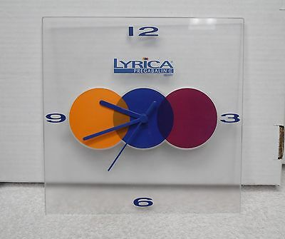 Advertising CLOCK for LYRICA Pregabalin CAPSULES