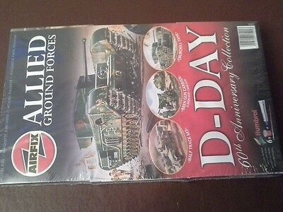Airfix 60th Anniversary D Day Allied Ground Forces New Factory Sealed Series 1