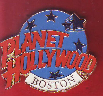 BOSTON - PLANET HOLLYWOOD PIN - never opend - -