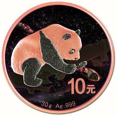 10Yuan China Fukang Meteorite Panda 2016 - in box with coa PRE Sale
