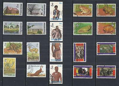 y530 Swaziland / A Small Collection Early Issues Used