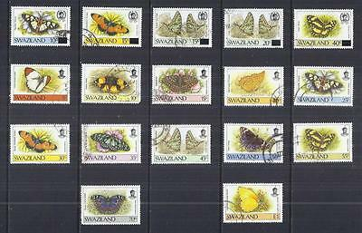 y534 Swaziland / A Small Collection Early Issues Used