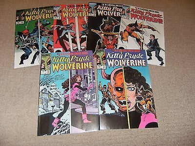 Kitty Pryde And Wolverine Mini Series #1 To #6 1984