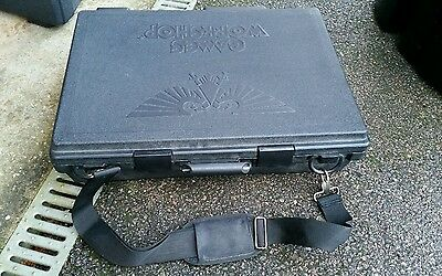 GAMES WORKSHOP Warhammer Large Black Army Carry Case with 6 Foam Trays & Strap