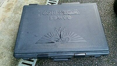 GAMES WORKSHOP Large Warhammer Black Army Carry Case with 6 Foam Trays
