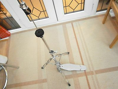 CB hi hat stand, lightweight double braced with clutch