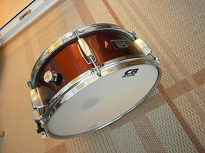 CB Wood Snare drum 14x5.5 wine red/burgundy.