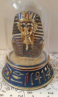 "Egyptian ""The Mask of Tutankhamun"" The Franklin Mint Figurine 4-1/2"""
