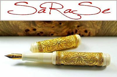Visconti Taj Mahal Füller Limited Edition 88 Stück Solid Gold Fountain Pen