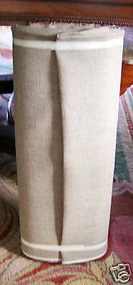 "NATURAL LINEN backing for Rug Hooking 65"" Wide ORDER 50 YARDS and up ONLY HERE"