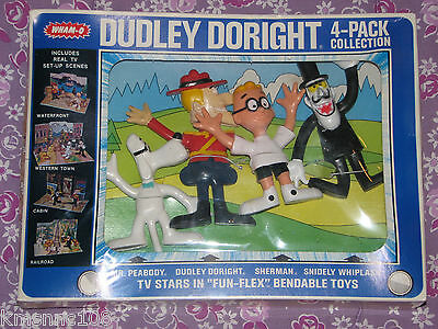 1972 Rocky & Bullwinkle Boxed Set: Factory Sealed/nm/m. Super Rare!