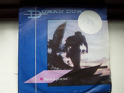 Duran Duran, Save A Prayer / Hold Back The Rain. Original 1982 Emi Single