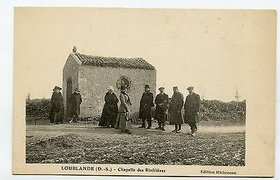 79 Cpa Loublande - Chapelle Des Rinfilieres - Belle Animation++++