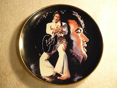ELVIS PRESLEY  EARLY YEARS  Remembered COLLECTORS PLATE 1987 plate number 9787