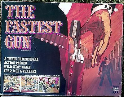 The Fastest Gun Vintage Board Game Denys Fisher 1970's Original