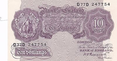 10/- Peppiatt B251 UNC D77D - SUPERB UNCIRCULATED NOTE