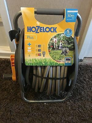 Hozelock  2434 60m Hose Cart And 30m Hose With Connectors