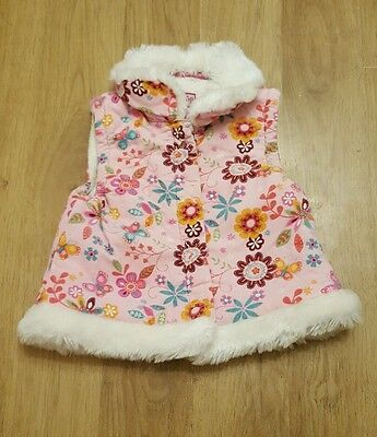 beautiful baby girls 0-3 months jacket bodywarmer Debenhams