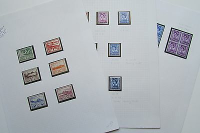 XL2713: Collection of Mint (MNH) Jersey Stamps (1943 - 1968)