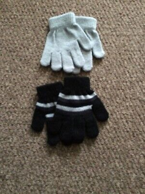 Baby Gloves X2 Pairs Age 1-2 Years