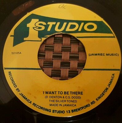 """The Silvertones I Want To Be There Studio One 7"""" Listen !"""