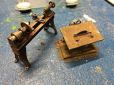 Hornby Meccano Saw Bench And Lathe
