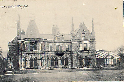 WATERFOOT    STAG HILLS    pu MANCHESTER 1907