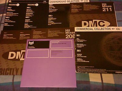 Job Lot Dmc Records Mainly House Trance Stuff Good Collection 7 Vinyl Bundle