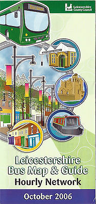 Leicestershire County Council Bus Map and Guide - October 2006