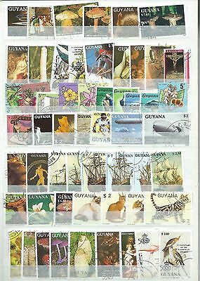 Guyana 112 Stamps Mint And Used .some British Guiana.