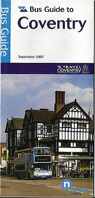 Travel Coventry (West Midlands Travel) Bus Guide to Coventry - Sept. 2007