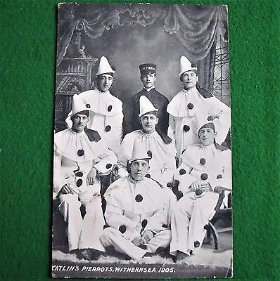 Antique Postcard Catlin's Pierrots Withernsea 1905 Yorkshire Unposted