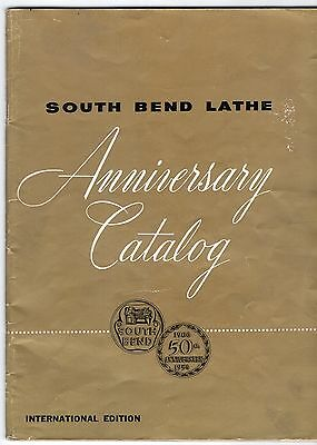 1956 South Bend Lathe Advertising Sales Catalog Machinist's Tools & Attachments