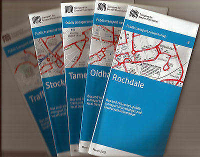 Transport for Greater Manchester area Transport Maps (5) - March 2012