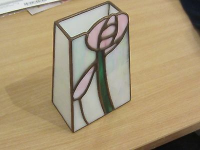 Hand Crafted Art Nouveau Lustre Glass Vase from Glasgow