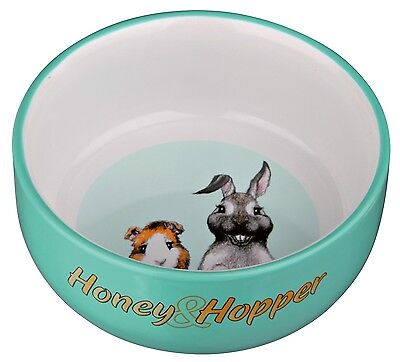 Sale* Hamster Rabbit Guinea Pig Ceramic Bowl Food Water Dish