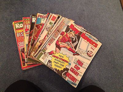 48 X different ROY OF THE ROVERS Comics 1990