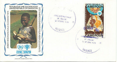FDC International year of the Child Cameroon 1979