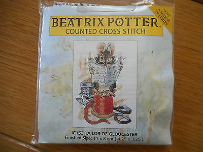 Beatrix Potter Cross Stitch Kit - Tailor of Gloucester - NEW by Anchor