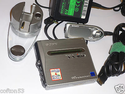 SONY MZ-NH1 Hi-MD MINIDISC RECORDER & PLAYER MiniDisk