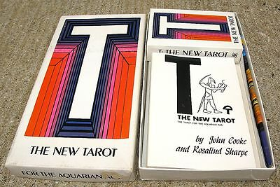 Vintage 1968-1970 New Tarot For The Aquarian Age Complete Deck Box Set Deck