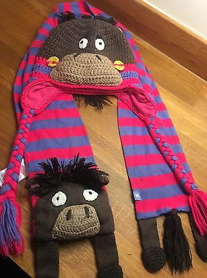 Joules Hat And Scarf Kids