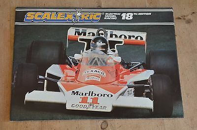Scalextric Electric Model Racing Catalogue 18Th Edition -1977