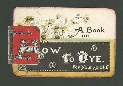 J18 - Maypole Soap For Dyeing - Folds Out - Victorian Trade Advertising Card