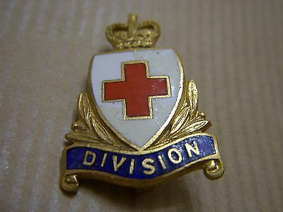 Old Red Cross Division Badge